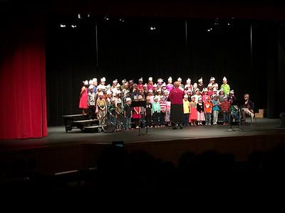 Lincoln 1st & 2nd Grade Music Program 022516