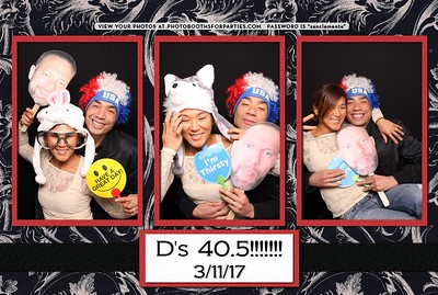 D's 40.5 Birthday Party