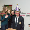 032317  Wesley Bunnell   Staff<br /> <br /> Peter Spano, a WWII Navy Veteran, celebrated his 90th at Tunis Community College where is taking classes on March 22, 2017 with fellow veteran students and faculty.