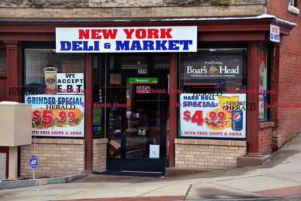 3/10/2017 Mike Orazzi   Staff The New York Deli & Market on Main Street in Bristol.
