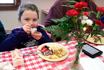 3/11/2017 Mike Orazzi   Staff Kathryn wall during an all you can eat pancake breakfast and maple sugaring event organized by the New Britain Youth Museum Saturday morning in Berlin.