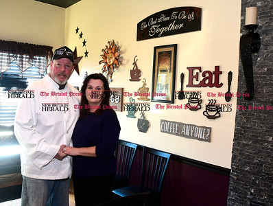 3/8/207 Mike Orazzi | Staff Cafe 2 North's J.R. and Leanne Russgrove in Wolcott.