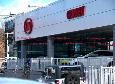 3/8/207 Mike Orazzi | Staff Crowley Auto Group's Kia location in Bristol.