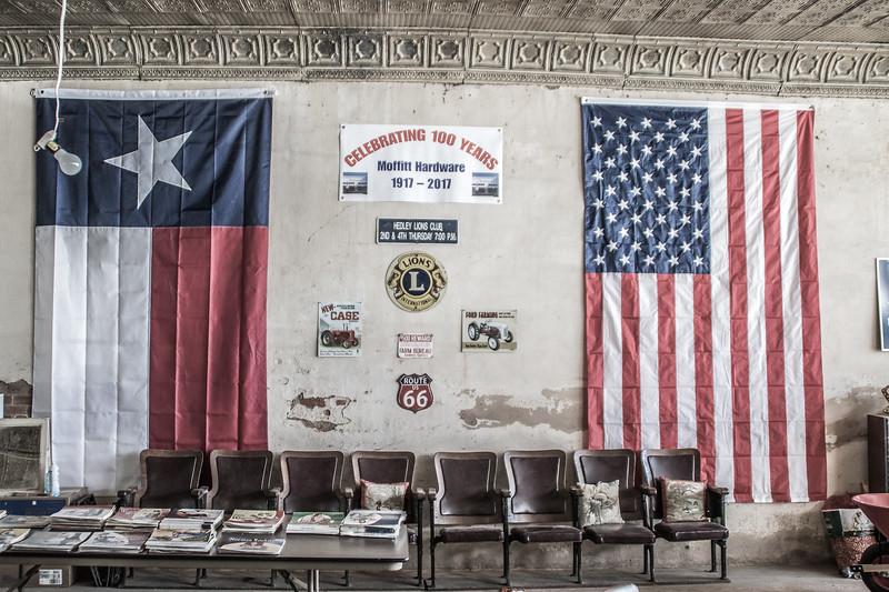 Moffitt Hardware, Hedley Texas