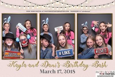 Kayla and Dani's Birthday Bash