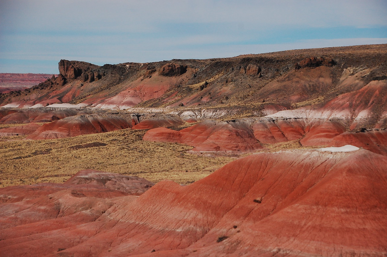 North of the PFNP is the Painted Desert.