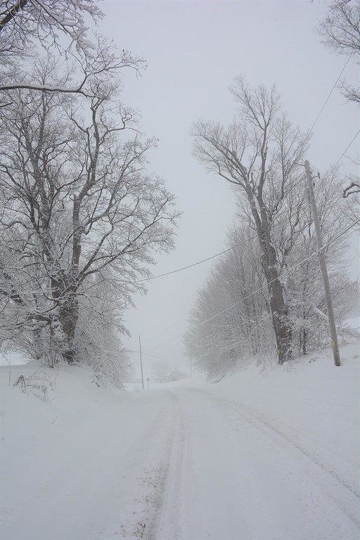 . This photo by Lisa Suzanne McClenthan shows Fairview Avenue in Oneida on Friday, March 2, 2018.