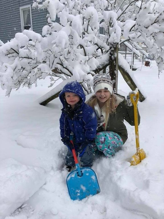 . It\'s time to shovel out some snow in this photo by Erika Mae, taken on Friday, March 2, 2018.