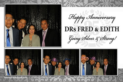 DRs Fred & Edith 25th Anniversary
