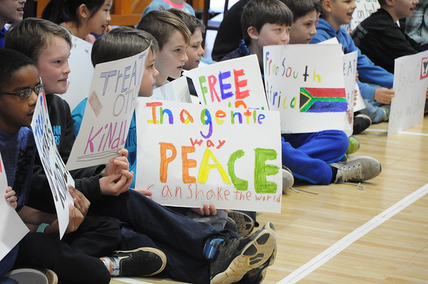 Fourth Graders Demonstrate What It Means to Be a Social Activist