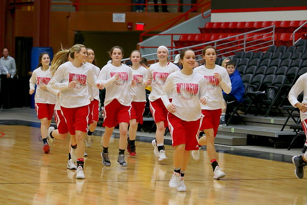 Lady Crusaders vs Lady Grizzlies (Labette Co)  030718