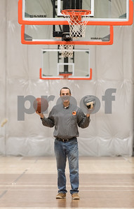 03/05/18  Wesley Bunnell | Staff  Owner Brad Fabian of The Basketball House in Plainville which features basketball and volleyball.