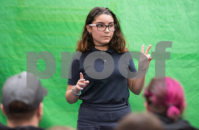 03/09/18  Wesley Bunnell | Staff  HALS Academy held their 4th Annual Storytelling Festival on Friday afternoon featuring food, fun and stories told by 7th grade students. Julissa Santiago spoke about a hospital visit which helped her keep life events in perspective.