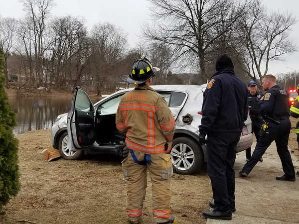 3/21/2018 Justin Muszynski | Staff A rollover crash on Memorial Boulevard in Bristol sent one man to the hospital Wednesday morning.