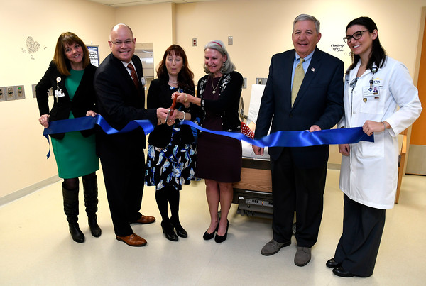 3/22/2018 Mike Orazzi | Staff Bristol Hospital's ribbon cutting event for its new nursing simulation room on Level B of the hospital's Center for Surgery and Endoscopy.
