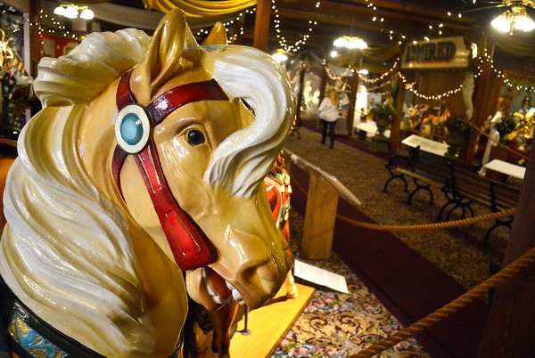 4/19/2016 Mike Orazzi | Staff The New England Carousel Museum in Bristol.
