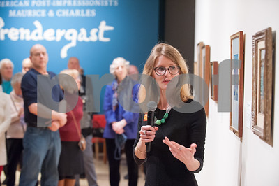 03/08/18  Wesley Bunnell   Staff  Curator of the New Britain Museum of American Art Lisa Williams led a presentation on American Post-Impressionists: Maurice & Charles Prendergast Thursday night at the museum.