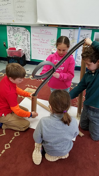 Third Graders Get Rolling with the Roller Coaster Unit