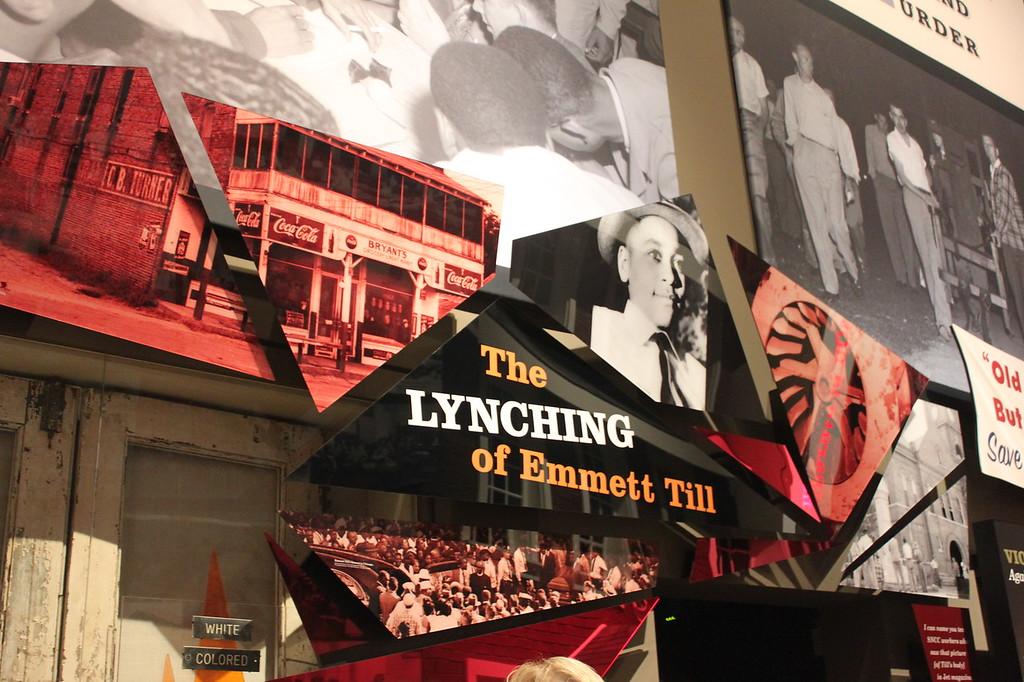 Mississippi Civil Rights Museum Emmett Till exhibit