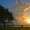 """Sunset, Pandanus Viewing Area, Townsville Common."" Crop 16:9."