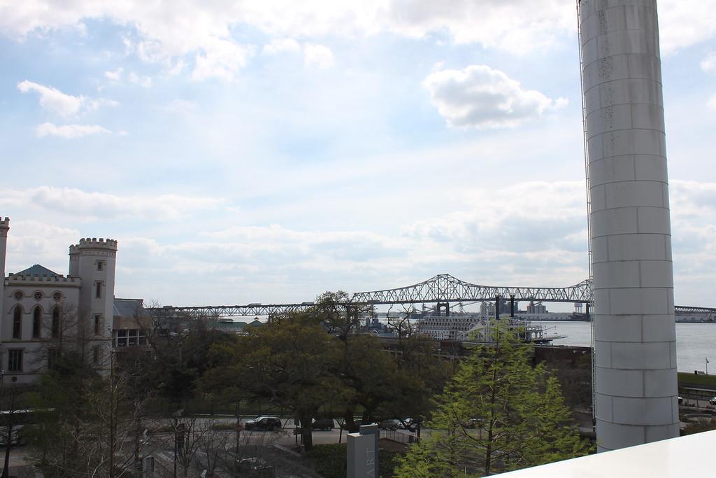 Baton Rouge riverfront
