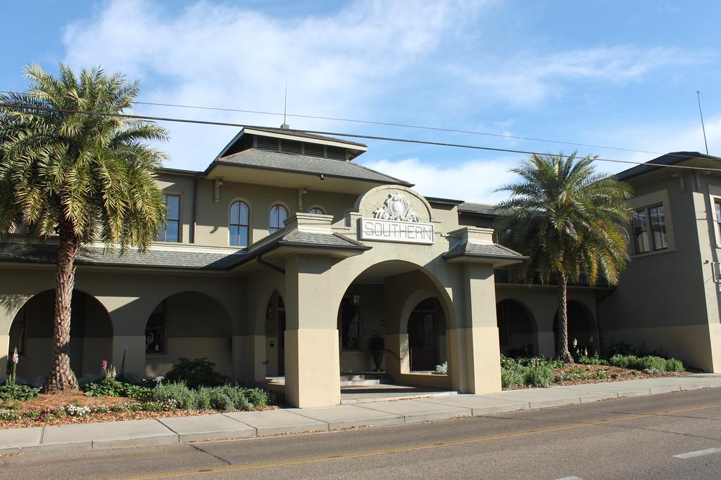Southern Hotel entrance