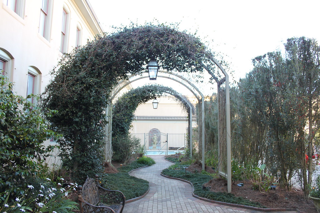 Southern Hotel gardens