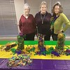 SUBMITTED PHOTO   Kappa Kappa Iota<br /> A McAlester Teachers Sorority met with hostesses Glenda Fowler , Brenda Calahan and Yvonne Allford. A Mardi Gras<br /> theme was was enjoyed by all.