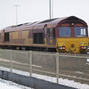 66131 sits at the northern end of Whitemoor Yd on 19th Jan 2013