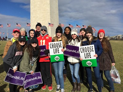 March For Life in Washington, DC 1/27/2017