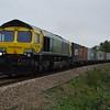 66420 4L85 Leeds - Felixstowe passes Silt Rd LC