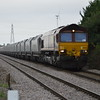 66068 6M89 Middleton Towers - Warrington Arpley passes Middle Rd LC