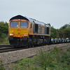 66752 4L29 Birch Coppice - Felixstowe passes Silt Rd LC