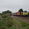 70002 4M67 Felixstowe - Crewe BH passes Silt Rd LC
