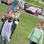 Henry and Aila and The Balloon Man of Kentucky Terry Kelley.