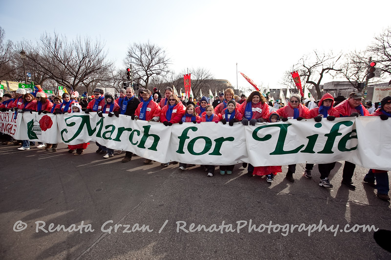 072- March For Life 2011 - Renata Photography