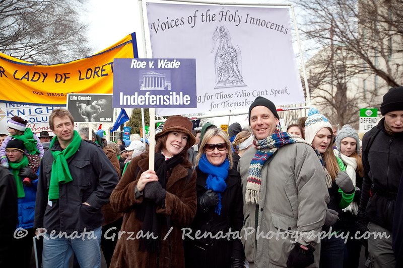 113- March For Life 2011 - Renata Photography