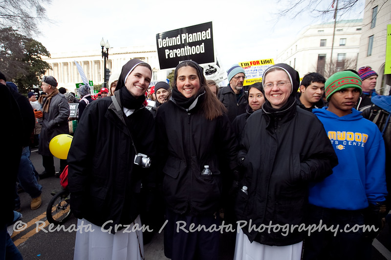 114- March For Life 2011 - Renata Photography
