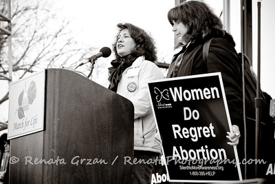 Women from the Silent No More Awareness campaign gave testimonies at the Rally about the devastating effects of abortion in their lives. www.silentnomoreawareness.org