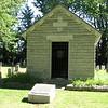 General Montcalm's mausoleum in the adjacent cemetery