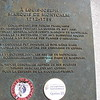 Plaque at Montcalm's mausoleum
