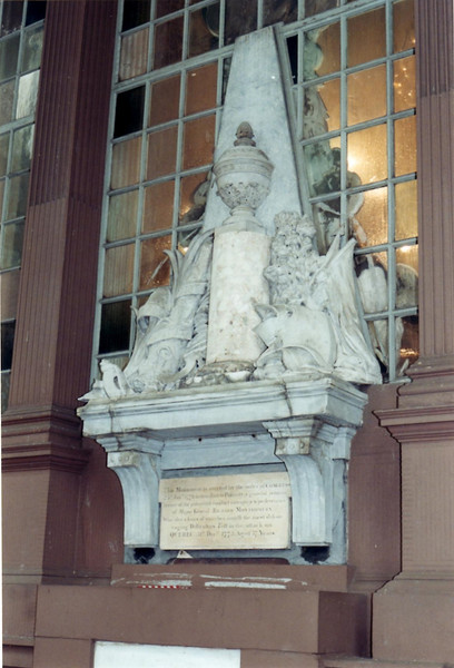 Monument to Gen. Montgomery at St. Paul's Chapel