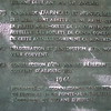 Lower part of the plaque, mentioning Arnold and Montgomery
