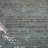 Top part of the plaque