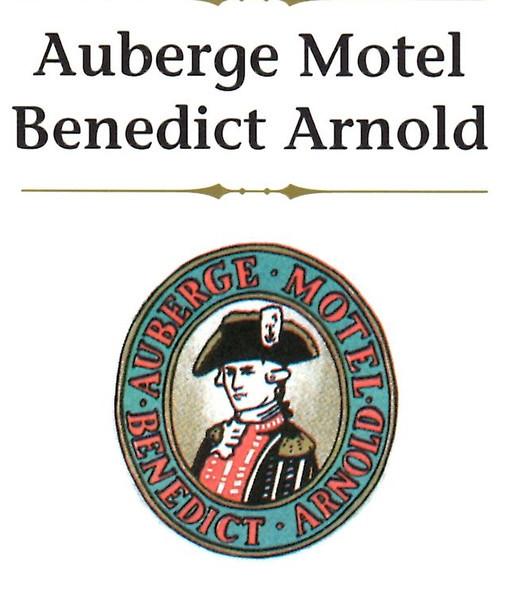 Motel brochure cover. The property, 18255 Boulevard LaCroix, St. Georges, QC is no longer a motel, but houses Ecole d'Entrepreneurship de Beauce.