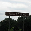 Sign at the bridge