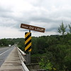 Sign and bridge at Riviere du Loup on Rt 204. St. Georges is straight ahead.