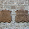 The plaques