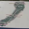 Map of the new walking/biking path from Wolfe's Cove to the Plains of Abraham, paralleling Cote Gilmour.