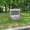 Situated about halfway up Cote Gilmour is this marker which commemorates Wolfe's advance from the St. Lawrence River to the Plains of Abraham. Arnold used the same route in 1775.